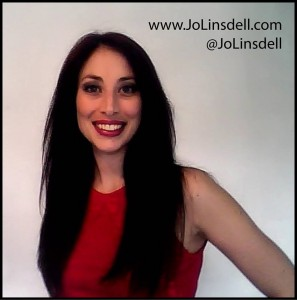 Author Jo Linsdell