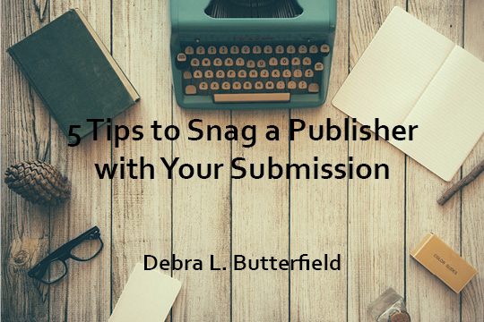 5 Tips to Snag a Publisher front cover