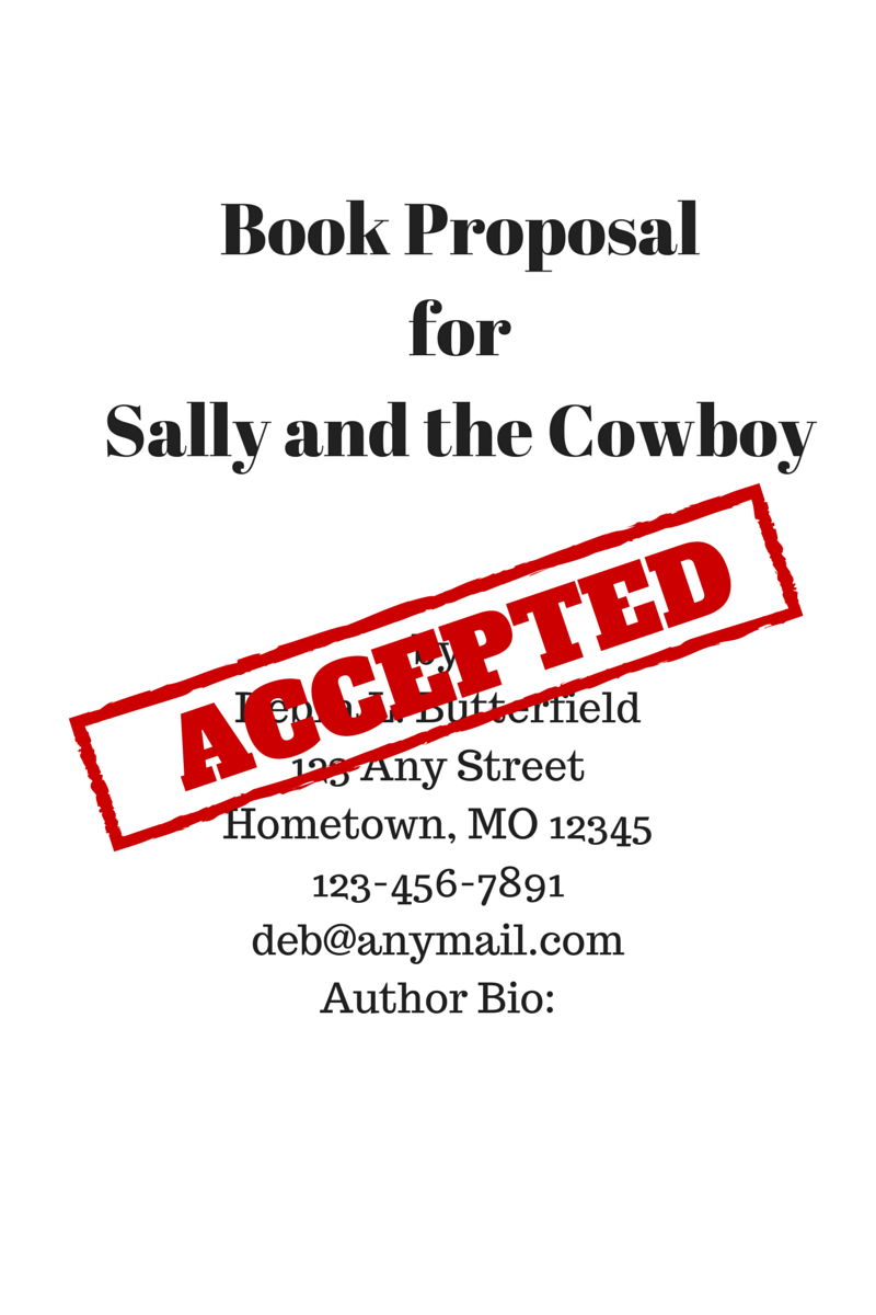 Book proposal accepted
