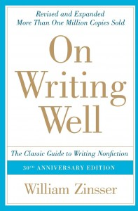 On Writing Well by William Zinsser