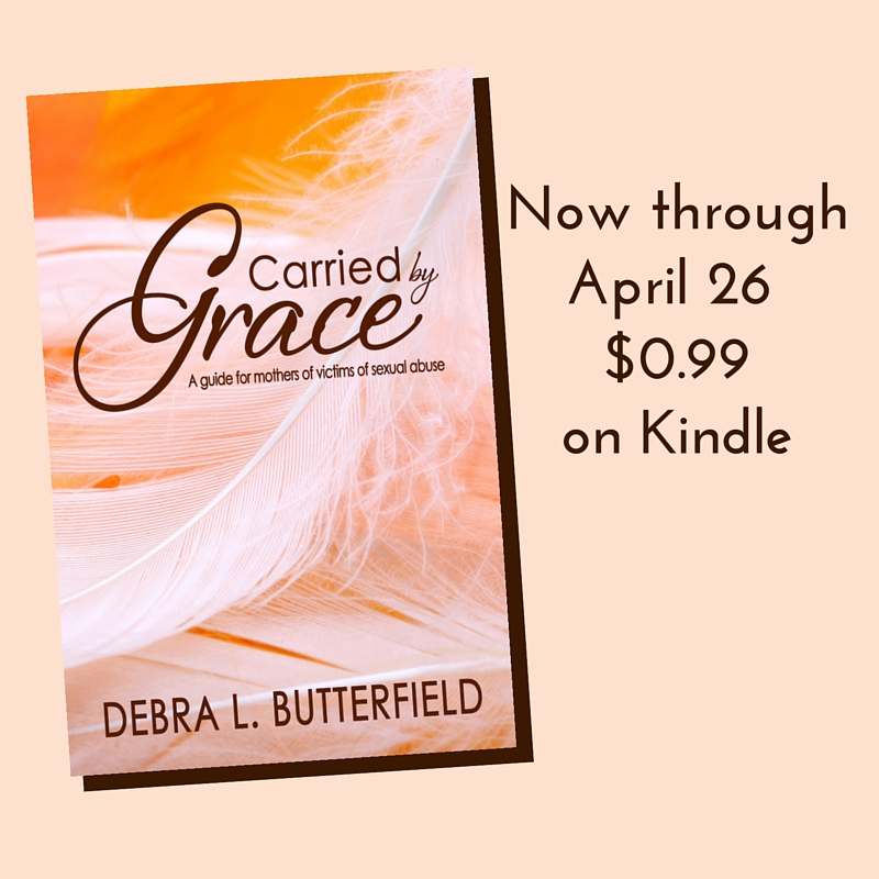Carried by Grace $0.99 on Kindle until April 26