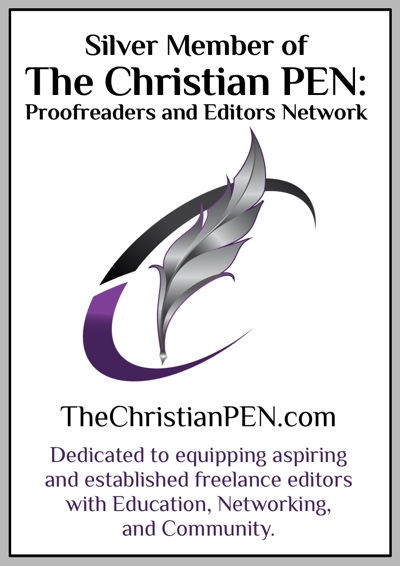 Silver Member of The Christian Pen, Proofreaders and Editors Network