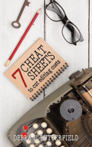 7 Cheat Sheets to Cut Editing Costs front cover