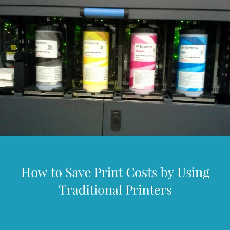 How to Save Print Costs Using Traditional Printers (video course)